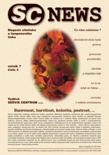 SC 2003 / 3 - SERVIS CENTRUM