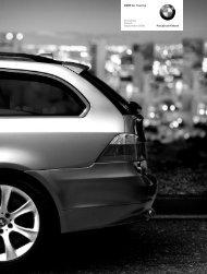 Freude am Fahren BMW 5er Touring Preisliste Stand ... - BMW-Treff