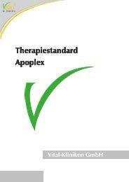 Therapiestandard Apoplex - in den Vital-Kliniken
