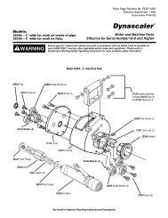 Dynascaler® - Dynabrade Inc.