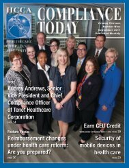 Audrey Andrews, Senior Vice President and Chief Compliance ...
