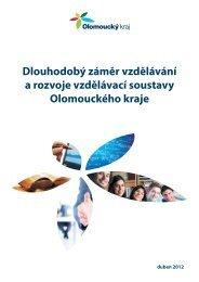 Dlouhodobý záměr vzdělávání a rozvoje ... - Olomoucký kraj