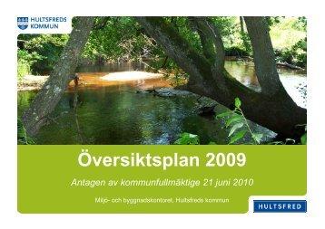 ÖP 2009 - Hultsfreds kommun