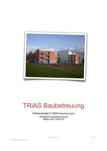Druckansicht (PDF) - TRiAS Baubetreuung GmbH & Co. KG