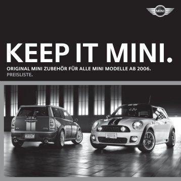 Preise Mini Zubehör - BMW-Treff