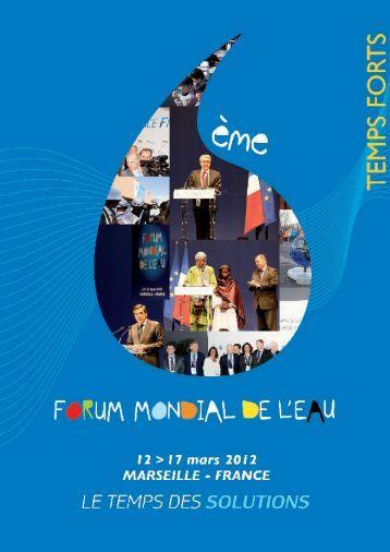 173 pays représentés - 6th World Water Forum