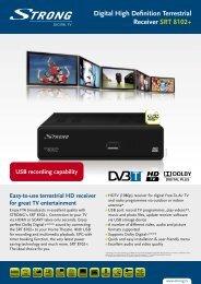 Digital High Definition Terrestrial Receiver SRT 8102+