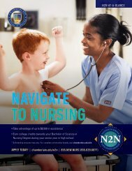 Download the Experience Nursing Day Flier (PDF) - Chamberlain