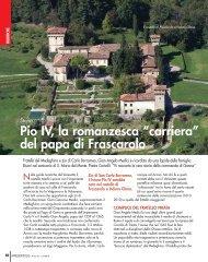"""Pio IV, la romanzesca """"carriera"""" del papa di Frascarolo"""