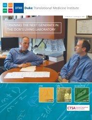 the dcri's living laboratory - DTMI - Duke University