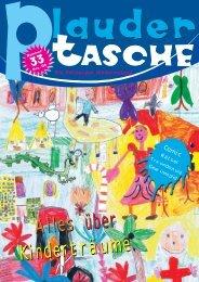 Plaudertasche 33: Dezember 2008 (3.3 MB) - Weltkindertag Salzburg