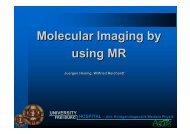 Molecular Imaging by using MR - Encite