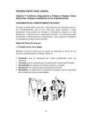 Conflictos, Negociación y Trabajo en Equipo - Universidad Nacional ...