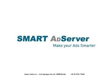 Smart AdServer – Axel-Springer-Str. 65, 10888 Berlin +49 30 2591 ...