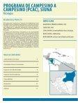 programa de campesino a campesino (pcac), siuna - Equator Initiative - Page 3