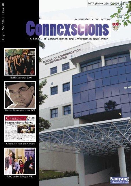 Nov 2004 - Nanyang Technological University