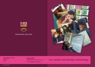 ict, media and design technology - Dulwich Hamlet Junior School