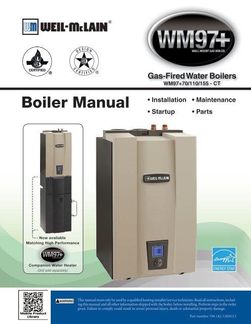 Boiler Manual Weil Mclain