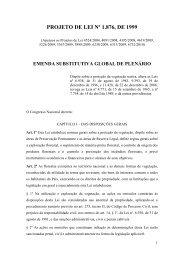PROJETO DE LEI Nº 1.876, DE 1999