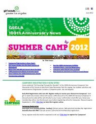 June 2012 - Girl Scouts of Greater Los Angeles