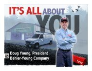 Doug Young, President Behler-Young Company