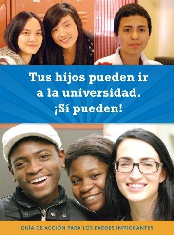 Tus hijos pueden ir a la universidad. - New York Immigration Coalition