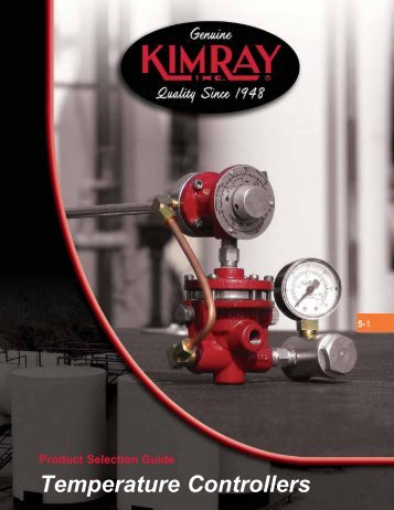 Temperature Controllers - Home | Kimray Mobile