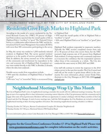 October High_RN598.pdf - Highland Park, IL