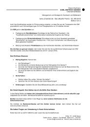 Das aktuelle Thema - 02. KW 2010 Seite 2 von 2 Ihre Einfluss ...