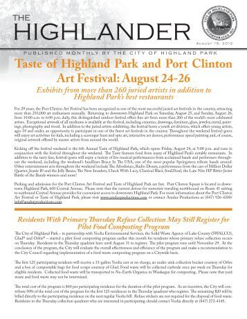 August 12 rev.pdf - Highland Park, IL