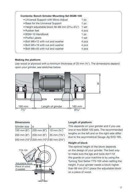 Astonishing Mounting The Bgm 100 Set Short Links Chair Design For Home Short Linksinfo