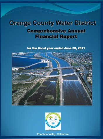 Comprehensive Annual Financial Report - Orange County Water ...
