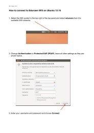 How to connect to Eduroam Wifi on Ubuntu 12.10