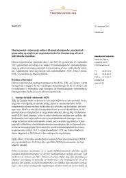 Bilag 2 høringsnotat Hi3G (pdf) - Erhvervsstyrelsen
