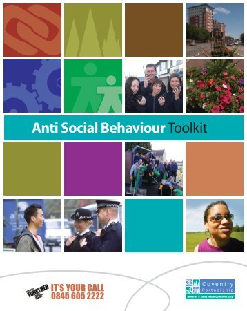 Anti Social Behaviour Toolkit - Keep Britain Tidy