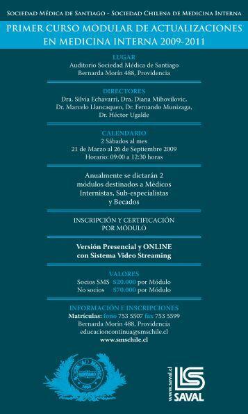 primer curso modular de actualizaciones en medicina interna 2009 ...