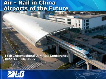 Rail in China Airports of the Future