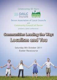 booking form - Community Council of Devon