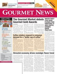 The Gourmet Market debuts Gourmet Gold Awards - Oser ...