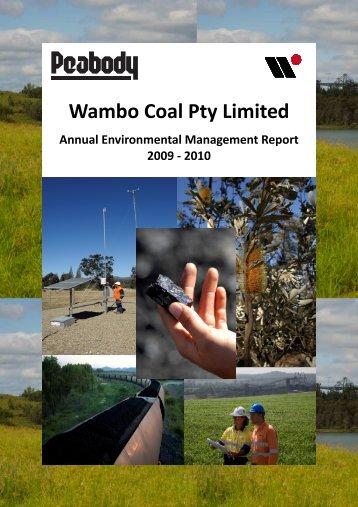 Wambo Coal AEMR 2009-2010 - Peabody Energy