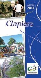 redac Clapiers 2012 - Les Agendas des Mairies