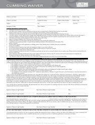 continuous swim lesson registration form - Life Time Fitness