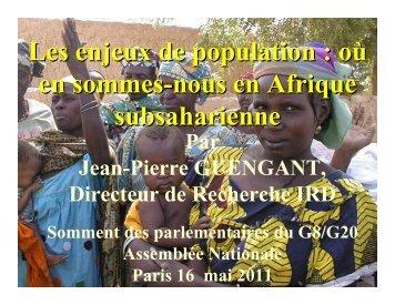 Prof. Jean-Pierre Guengant, Directeur de Recherche à l'Institut ... - EPF
