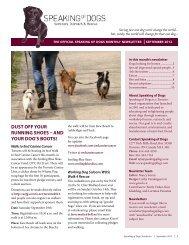 September 2012 - Speaking of Dogs