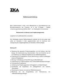 Stellenausschreibung - Jobboerse.de