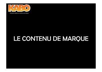 Téléchargement kabo_brand_content.pdf - Recherche Marketing ...