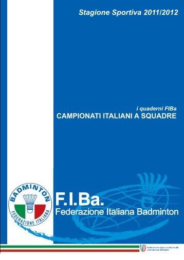 Guida ai Campionati Italiani a Squadre stagione 2011-2012 def
