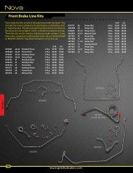 The Right Stuff HKT6803 Power Disc Front Brake Line Kit 5 Piece