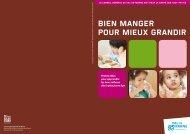 bien manger pour mieux grandir - Conseil général du Val-de-Marne