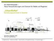 T. Meinberg – UrbanReNet - Entwerfen und Energieeffizientes Bauen